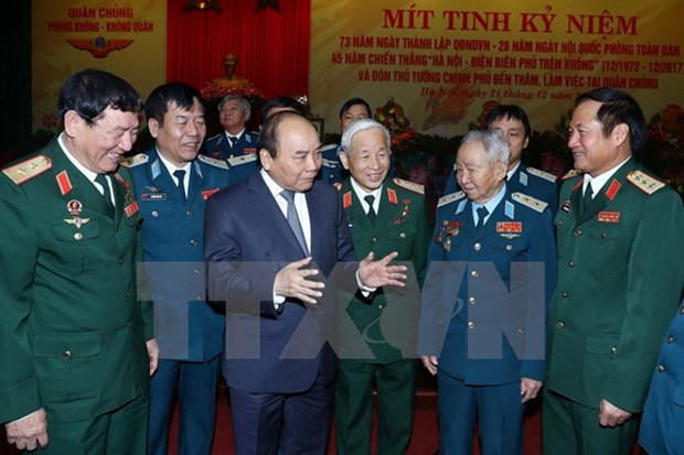 PM urges prompt modernisation of Air Defence-Air Force hinh anh 1
