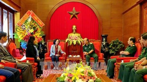 Military Region 7 vows to boost mass mobilisation work hinh anh 1