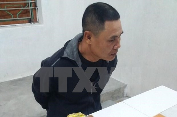 Hai Duong police nick three people with 2 kilogrammes of drugs hinh anh 1