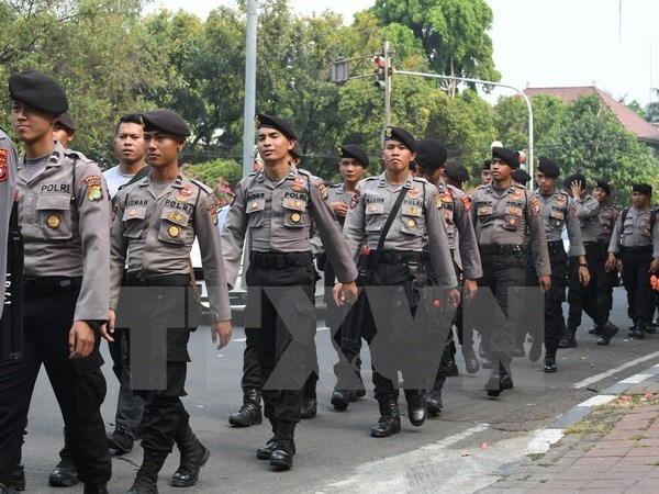 Indonesia tightens security ahead of Christmas hinh anh 1