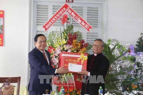 Christmas wishes to Can Tho, Bac Lieu Catholic followers hinh anh 1