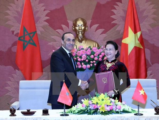 President of Moroccan House of Representatives concludes VN visit hinh anh 1