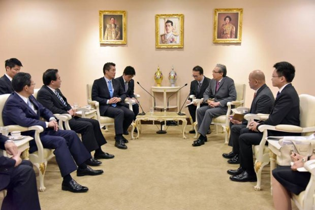 Thailand, Japan discuss investments in high-speed rail, smart city hinh anh 1