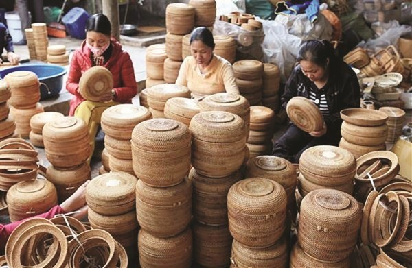 Bamboo, rattan sectors face several hurdles hinh anh 1