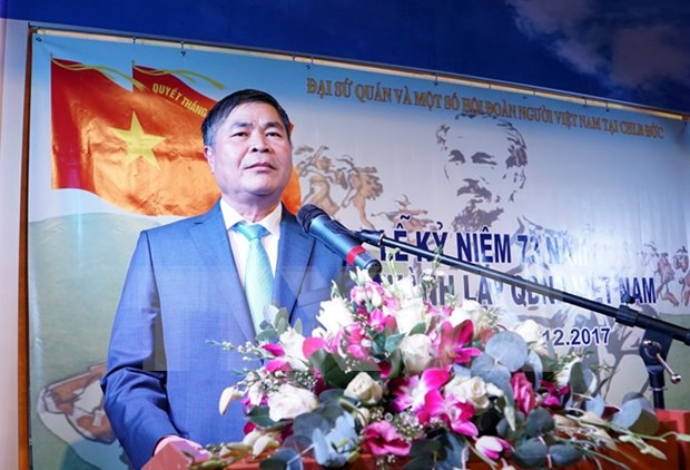Vietnam People's Army anniversary marked in Germany, Tanzania hinh anh 1