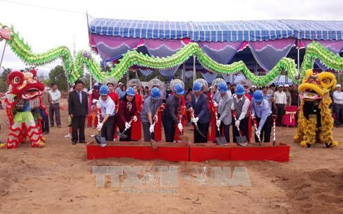Ninh Thuan: Work begins on hi-tech animal feed production plant hinh anh 1