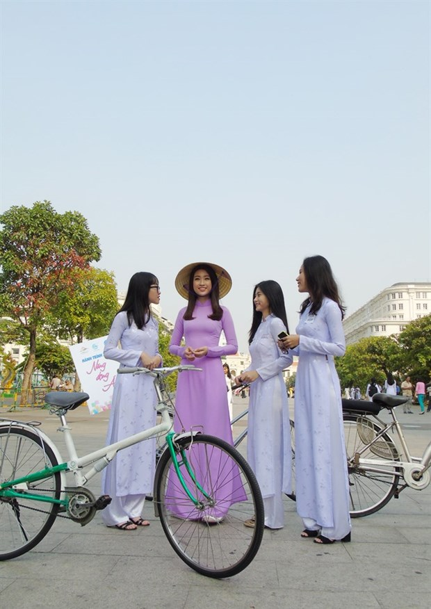 HCM City to host ao dai festival in March hinh anh 1