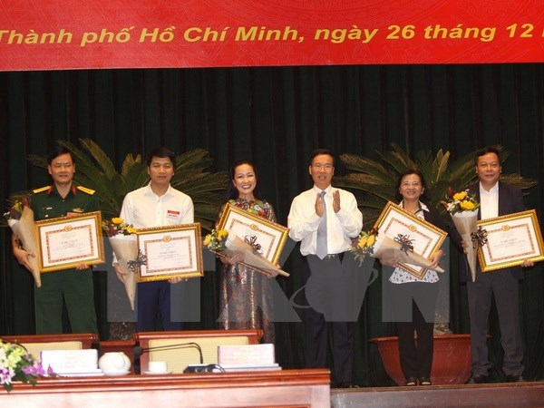 National press conference launches 2018 tasks hinh anh 1