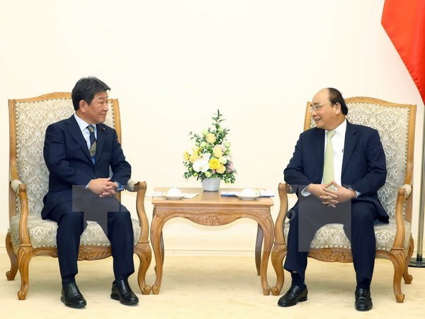 PM: Vietnam, Japan should pioneer in accelerating CPTPP hinh anh 1