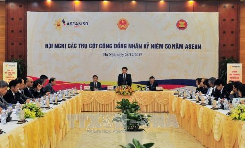 Government bodies discuss ASEAN cooperation hinh anh 1
