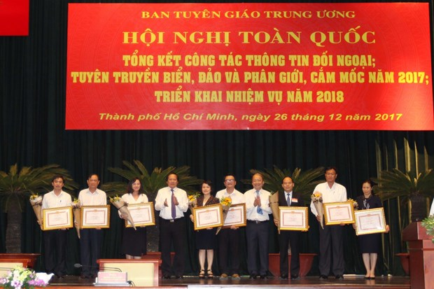 National meeting reviews external information work in 2017 hinh anh 1