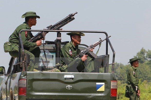 Myanmar extends curfew in northern Rakhine hinh anh 1