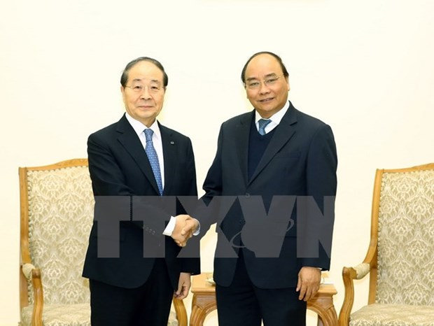 Government leader host Chairman of RoK's Panko Corporation hinh anh 1