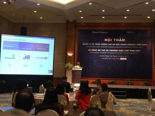 Conference enhances understanding of brand value hinh anh 1