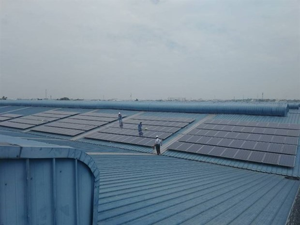 Vietnam's largest rooftop solar power system put into operation hinh anh 1