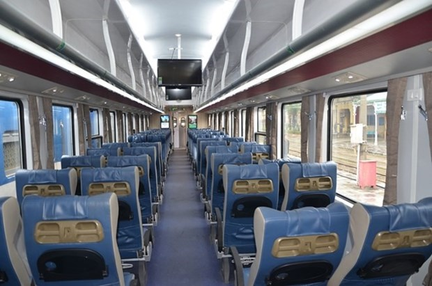 New train carriages to be operated during Tet hinh anh 1
