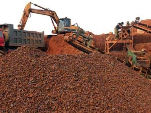 Ministry permits 200,000 tonnes of iron ore exports hinh anh 1