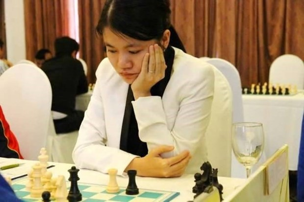 Vietnamese ranks third in ongoing world chess event hinh anh 1