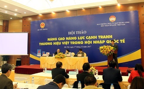 Vietnamese firms need trademarks: experts hinh anh 1