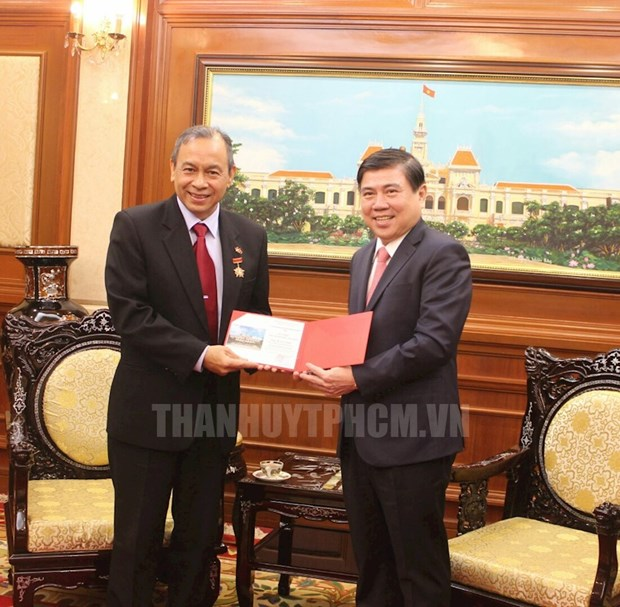 Outgoing Indonesian Consul General bids farewell to HCM City hinh anh 1