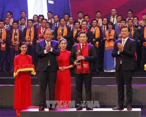 Ceremony honours young entrepreneurs in 2017 hinh anh 1