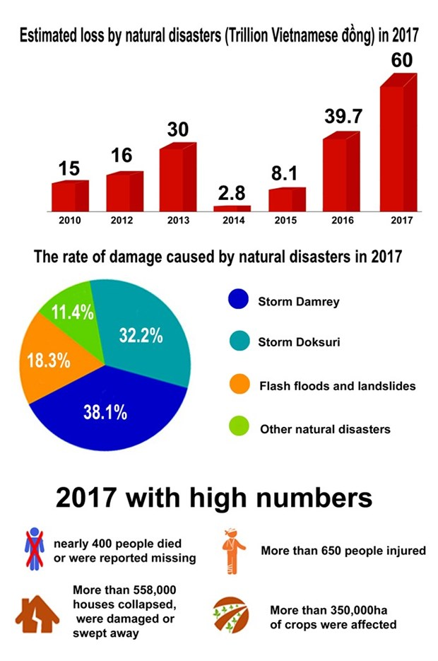 2017 plagued by devestating natural disasters hinh anh 1
