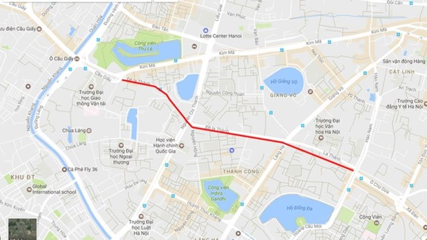 2.2km Hanoi road most expensive to date hinh anh 1
