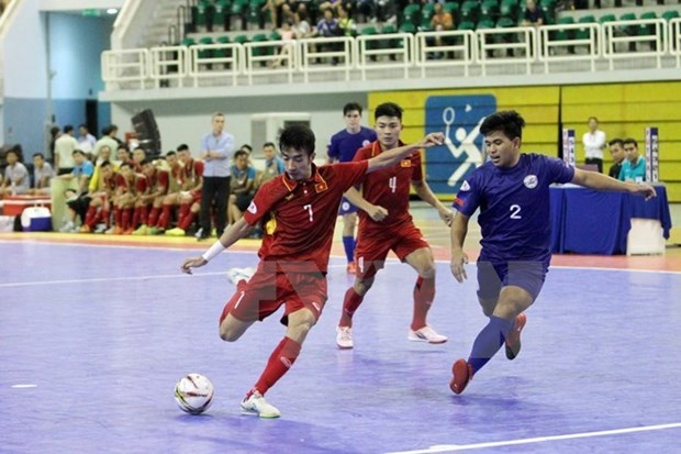 VN strive to be present at Futsal World Cup final round hinh anh 1