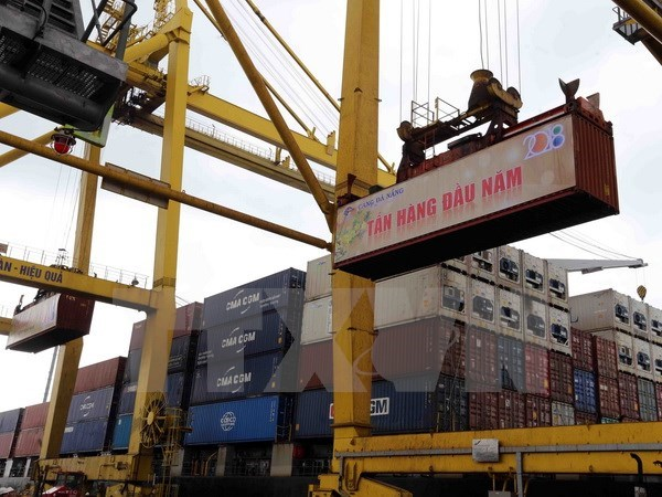 Da Nang Port handle first cargo batch of 2018 hinh anh 1