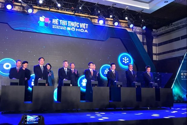 Digital Vietnamese knowledge system launched hinh anh 1
