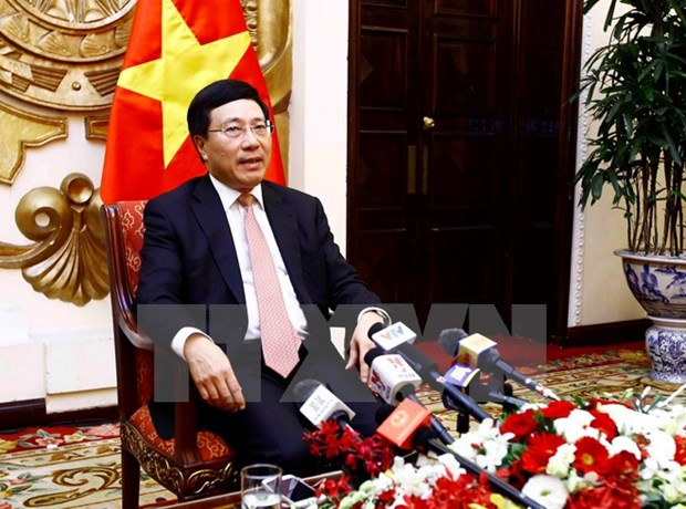 2017 – one of most successful years of Vietnam's diplomacy: Deputy PM hinh anh 1