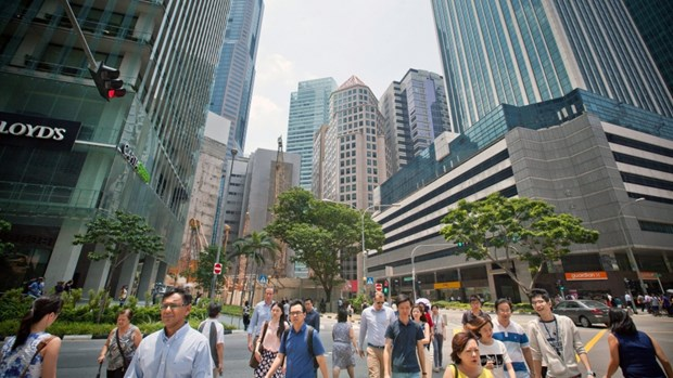 Singapore's economy grew 3.5 percent in 2017 hinh anh 1