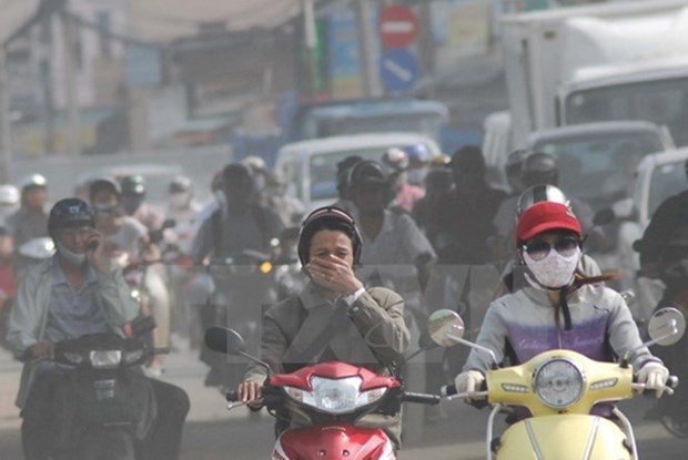 Air pollution at alarming rate in HCM City hinh anh 1