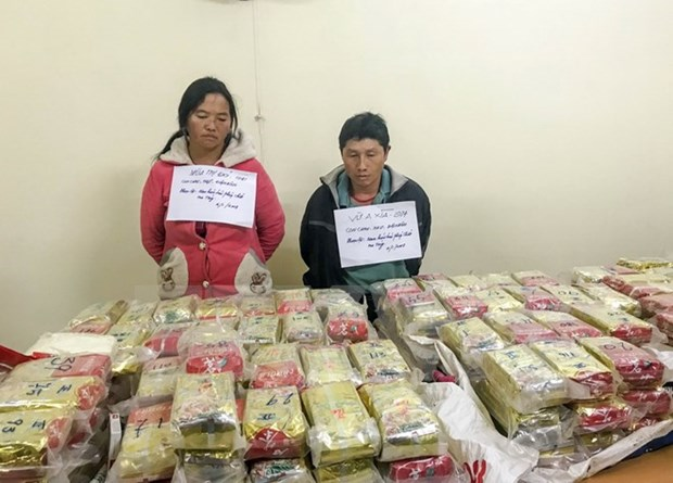 Biggest ever drug case in Vietnam uncovered hinh anh 1