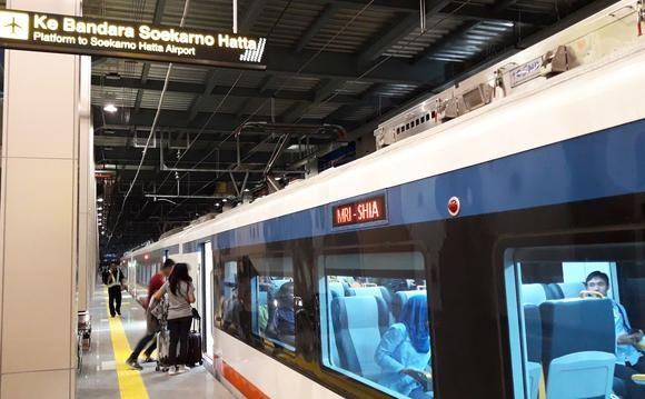 Indonesia launches train to Soekarno-Hatta airport hinh anh 1