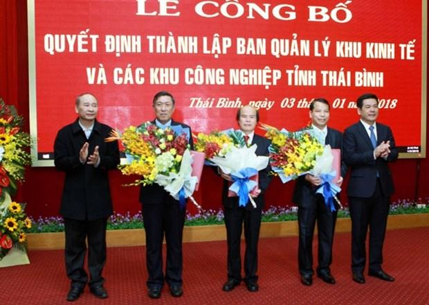 Establishment decision of Thai Binh economic zone announced hinh anh 1