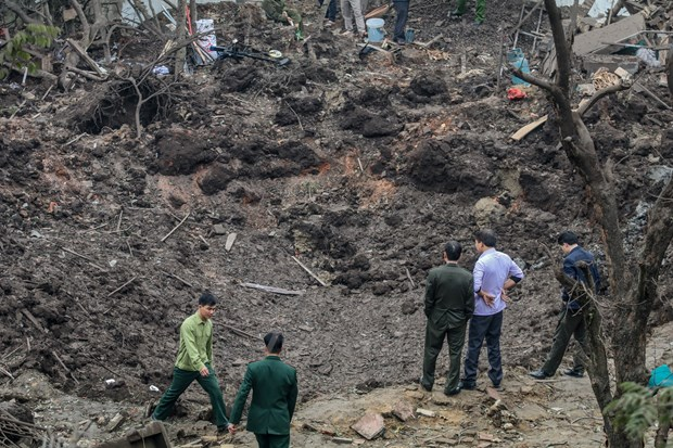 Police commence criminal proceedings against deadly explosion in Bac Ninh hinh anh 1