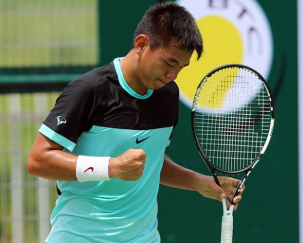 Nam in quarters of HK F6 tennis tournament hinh anh 1