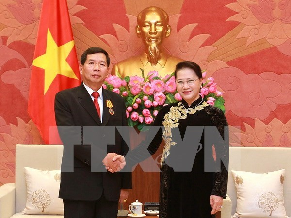 NA Chairwoman urges for deeper Vietnam-Laos judicial cooperation hinh anh 1