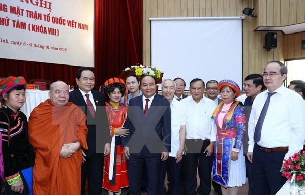 Government always listens to VFF's feedback: PM hinh anh 1