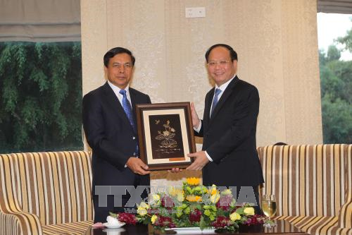 HCM City treasures friendship with Lao localities hinh anh 1