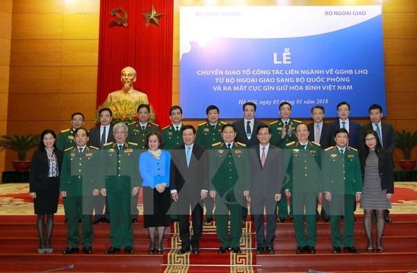 Vietnam peacekeeping department debuts hinh anh 1