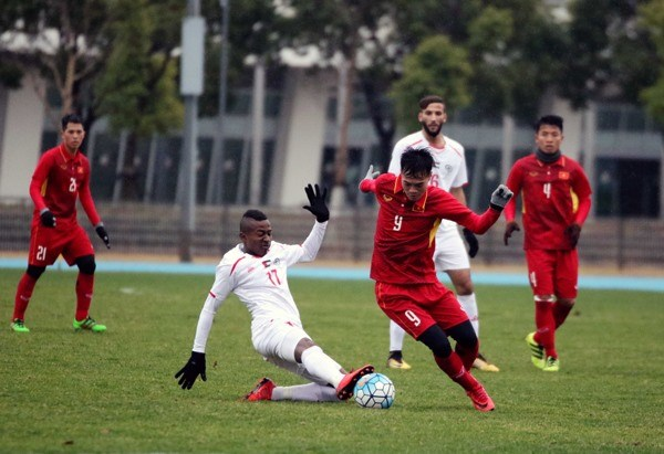 Vietnam tie with Palestine in friendly match hinh anh 1