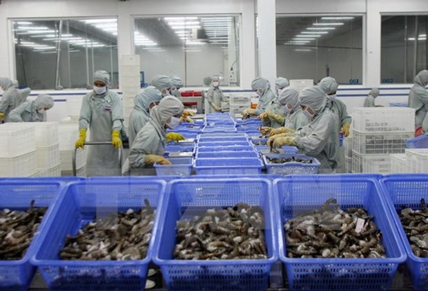 VASEP forecast upbeat shrimp export growth for 2018 hinh anh 1
