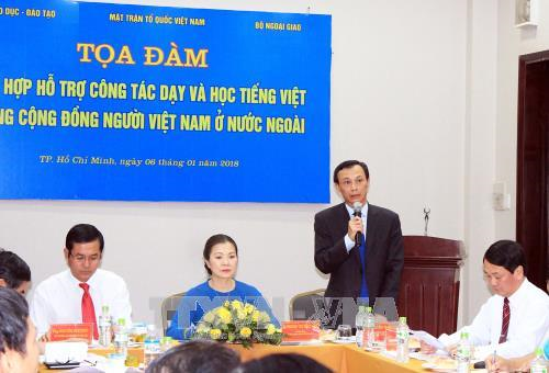 Measures sought to help OVs preserve mother tongue hinh anh 1