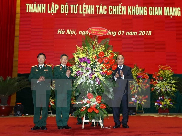Cyber Command asked to safeguard national sovereignty in cyberspace hinh anh 1