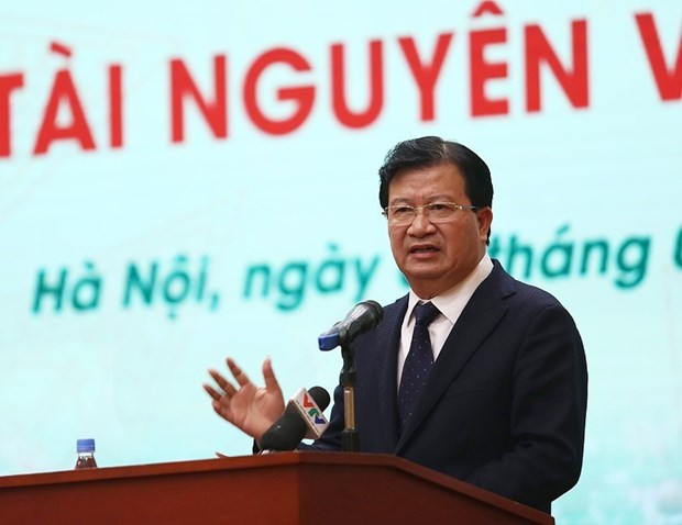 Deputy PM requests breakthrough in natural resources management hinh anh 1