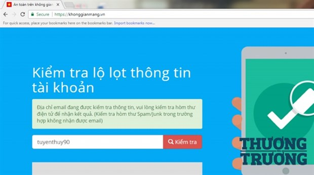 Online platform created to control data breach hinh anh 1
