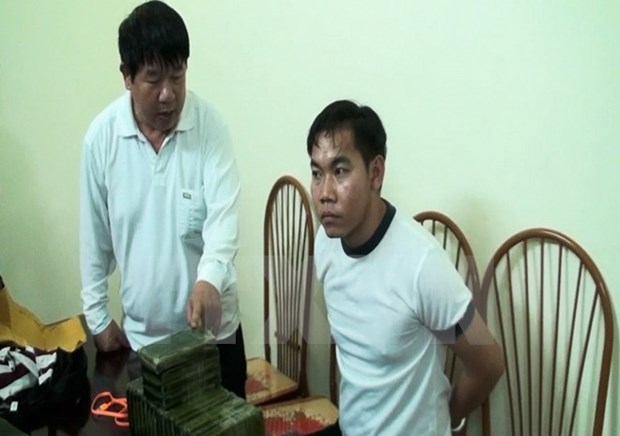 Drug trafficking ring razed in Dien Bien hinh anh 1