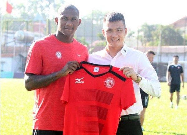 HCM City get third foreign player in team hinh anh 1